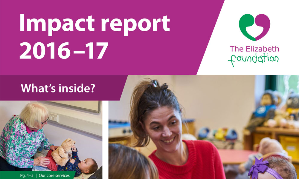 Read The Elizabeth Foundation's Impact Report 2016-17