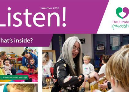 Read our Summer 2018 Listen! newsletter