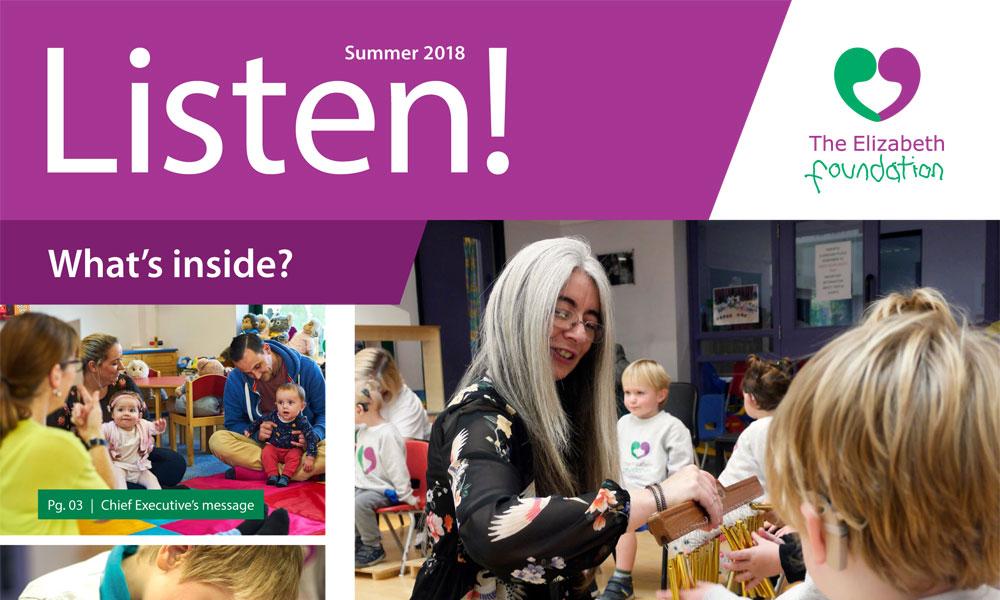 Read our Summer 2018 Listen! newsletter