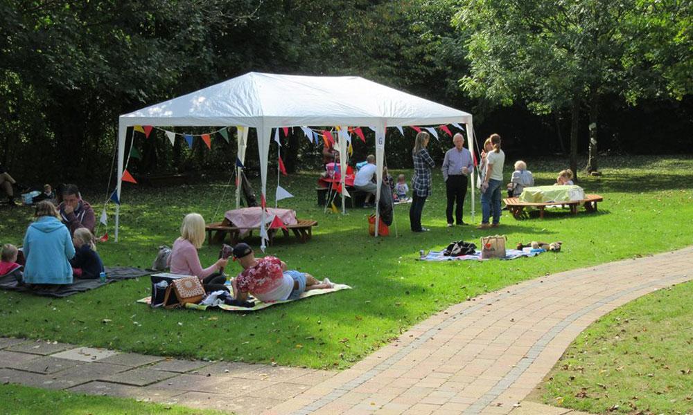 Alumni picnic for past pupils of The Elizabeth Foundation for preschool deaf children