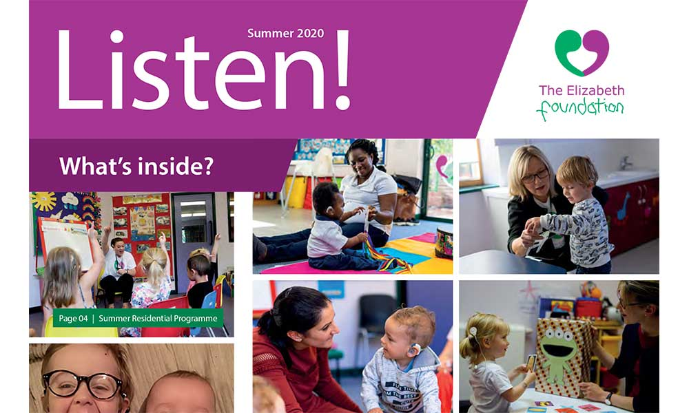 The Elizabeth Foundation Listen! Newsletter Summer 2020